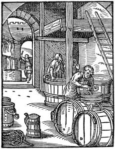 Historische Brauerei Mittelalter