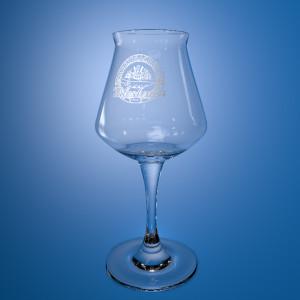 ProBier Glas Tälesbräu Blau