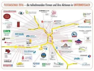 Lageplan Fleckaschau 2016
