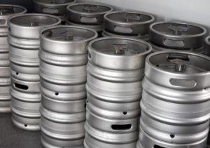 Bierfässer Tälesbräu