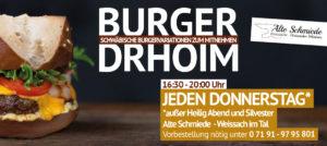 Burger To Go - Alte Schmiede Weissach im Tal